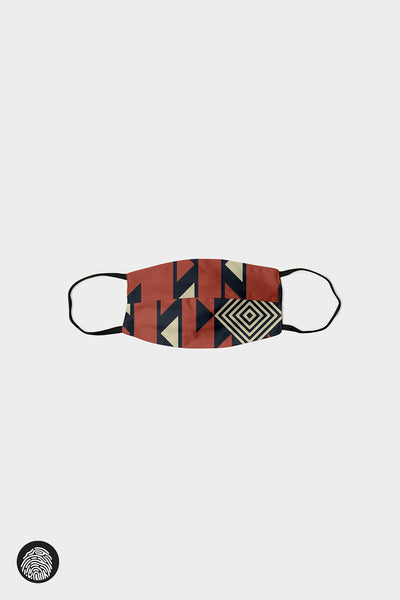 HORIZONTAL SEAM FACE MASKS (5-PACK) / AZTEC III | MAM Couture