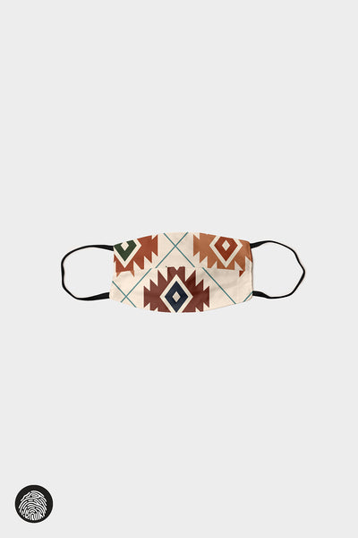 HORIZONTAL SEAM FACE MASKS (5-PACK) / AZTEC | MAM Couture