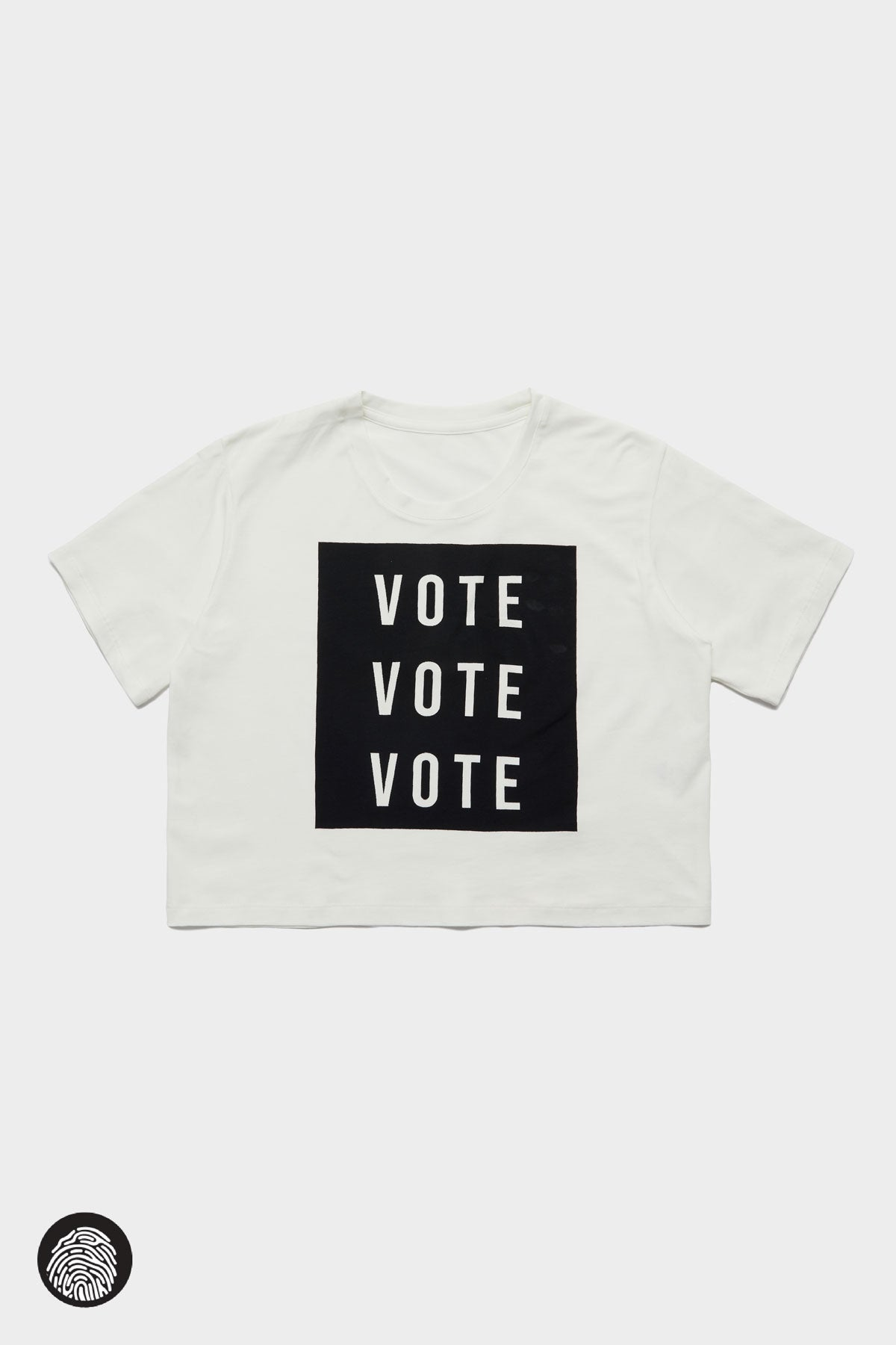CROPPED T-SHIRT / VOTE | Megan Renee