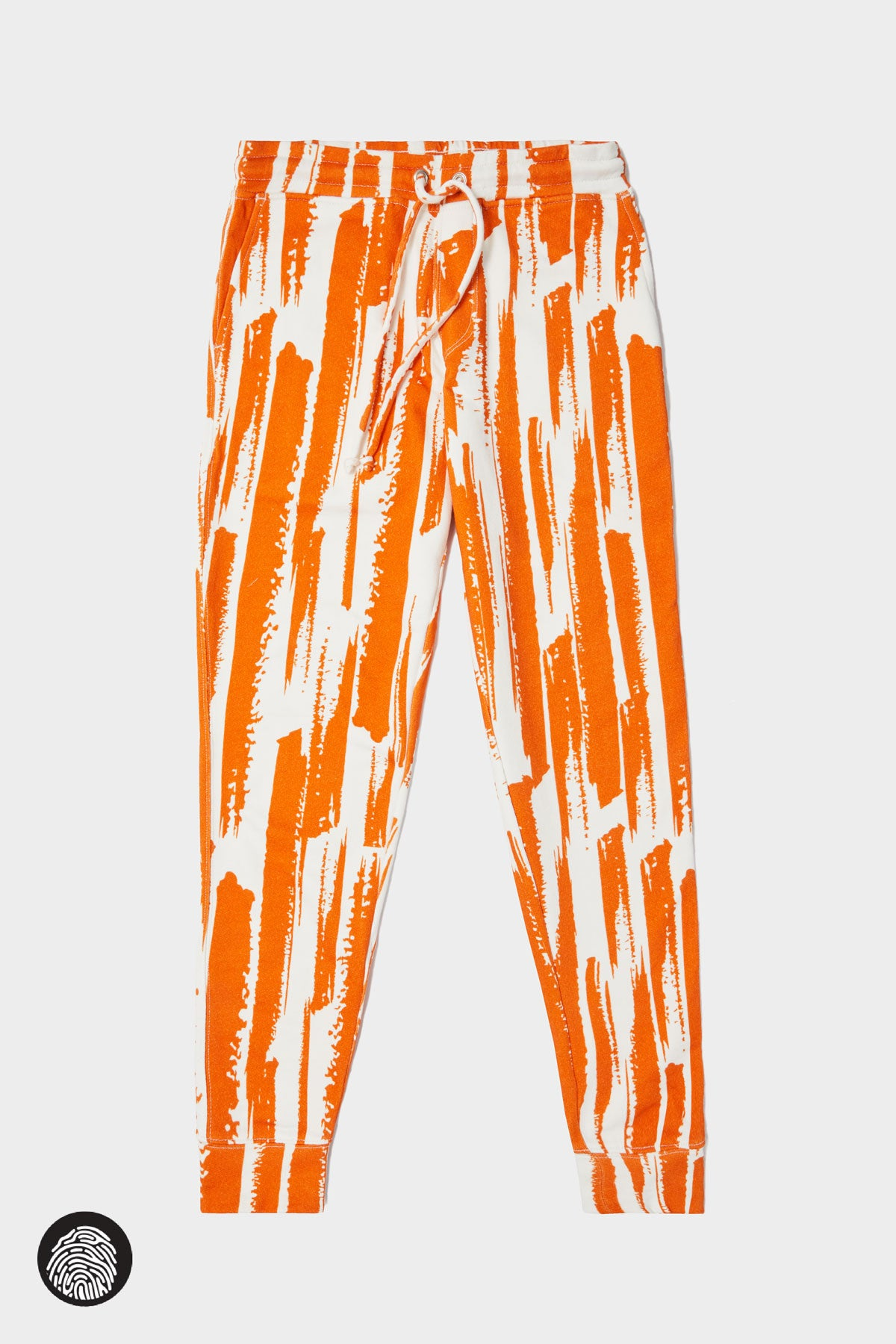 BASIC JOGGER / BRUSH STROKE SAFFRON | Megan Renee