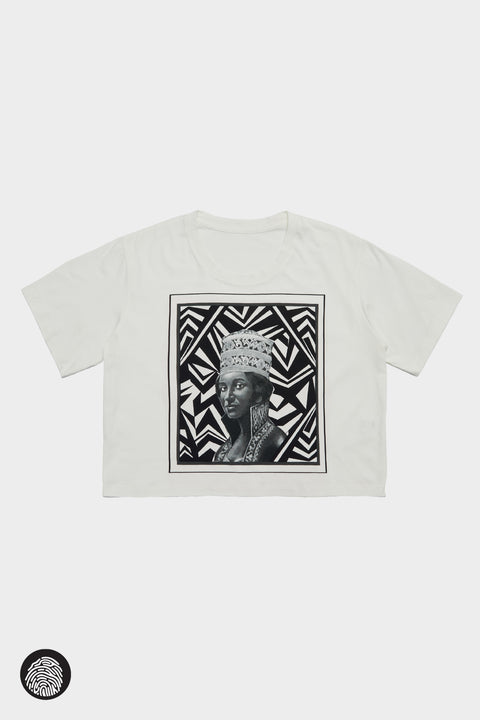 CROPPED T-SHIRT / QUEEN SHEBA | Megan Renee