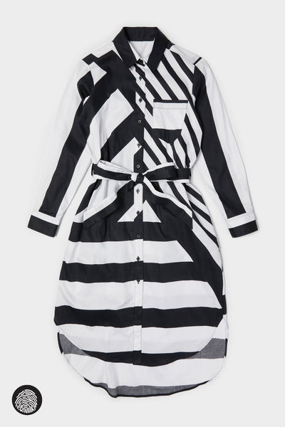 SHIRTDRESS / MULTI STRIPE | Megan Renee