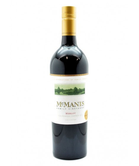 MCMANIS FAMILY VINEYARDS MERLOT 750mL