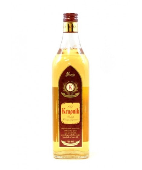 KRUPNIK HONEY 80@ LIQUEUR 750ml