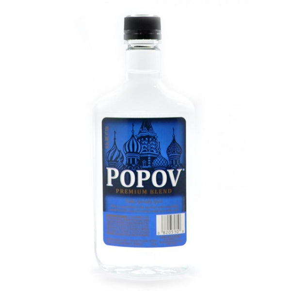 POPOV VODKA 100@ 375ml