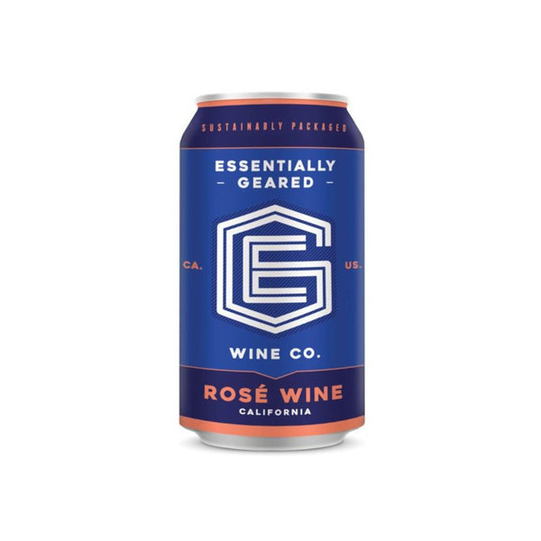 ESSENTIALLY GEARED ROSE CAN 375ml