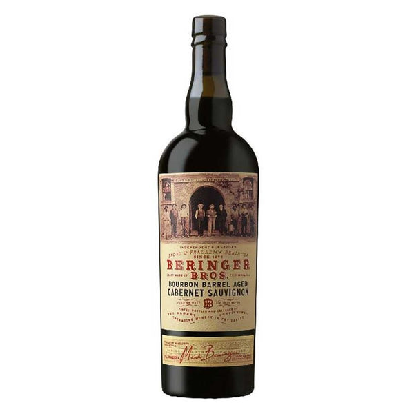 BERINGER BROS CABERNET BOURB BRL 750ml