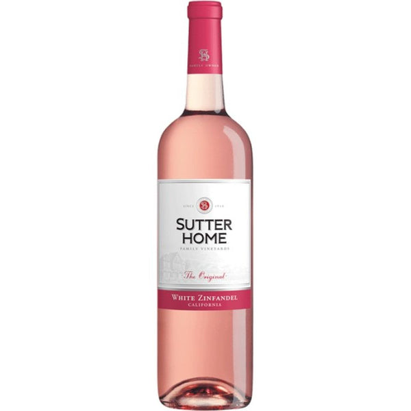 SUTTER HOME WH ZIN 750ml