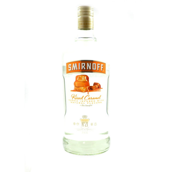 SMIRNOFF KISSED CARAMEL VODKA 1.75L