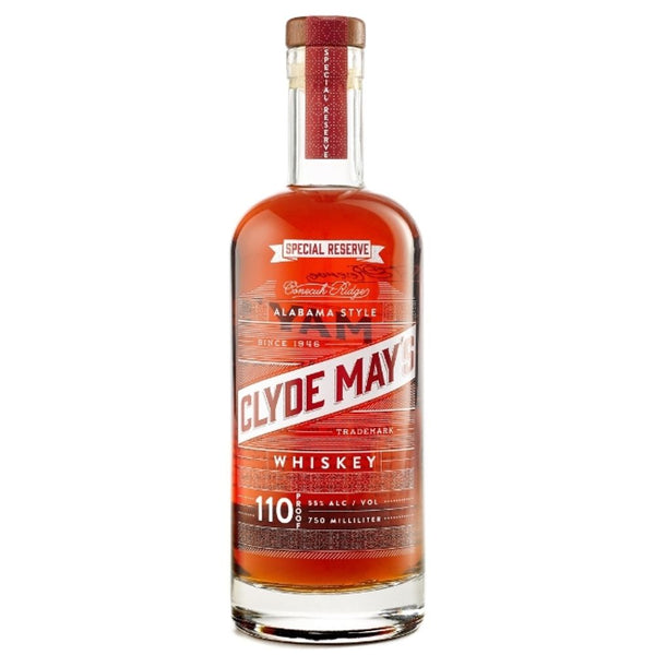 CLYDE MAY SPECIAL RESERVE BOURBON 750ml