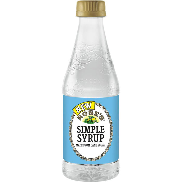 ROSE'S SIMPLE SYRUP 12OZ 12oz