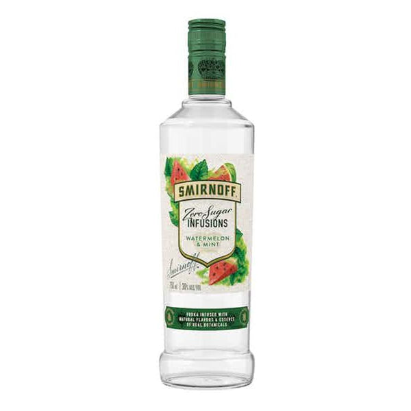 SMIRNOFF ZERO WATERMELON MINT 750ml