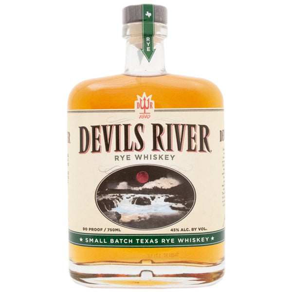 DEVILS RIVER RYE WHISKEY 90@ 750ml