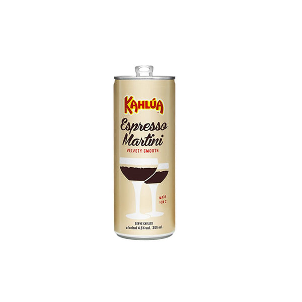 KAHLUA ESPRESSO RTD MARTINI 4 PACK 200mL