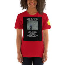 Load image into Gallery viewer, How without immersionShort-Sleeve Unisex T-Shirt