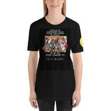 Load image into Gallery viewer, COEXIST Short-Sleeve Unisex T-Shirt
