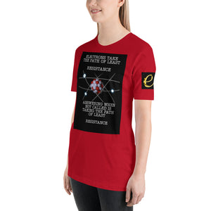 Path of least Resistance Short-Sleeve Unisex T-Shirt