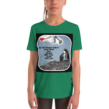 Load image into Gallery viewer, Follow your heart Youth Short Sleeve T-Shirt