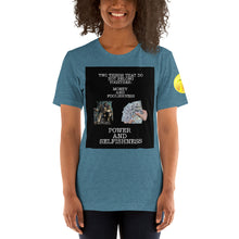 Load image into Gallery viewer, Power and Money Short-Sleeve Unisex T-Shirt