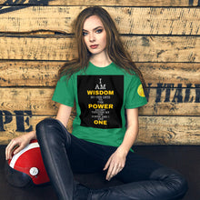 Load image into Gallery viewer, Power and Wisdom Short-Sleeve Unisex T-Shirt