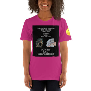 Power and Money Short-Sleeve Unisex T-Shirt