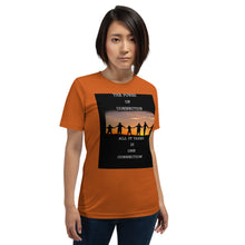 Load image into Gallery viewer, Connection Power Short-Sleeve Unisex T-Shirt