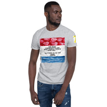 Load image into Gallery viewer, Red or Blue Short-Sleeve Unisex T-Shirt