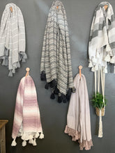 Load image into Gallery viewer, Woven Pink Ombre with Tassels