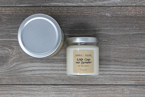 The White Sage and Lavender Soy Candle