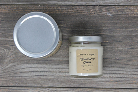 The Strawberry Guava Soy Candle