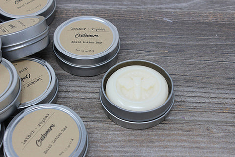 The Cashmere Lotion Bar