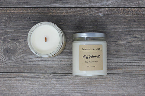 The Fall Harvest Soy Candle