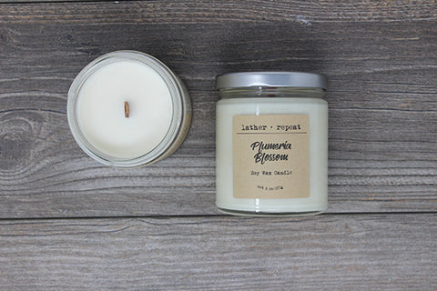 The Plumeria Blossom Soy Candle