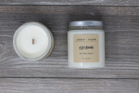 The Old Books Soy Candle
