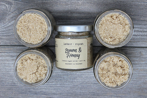 Lemon & Honey Sugar Scrub