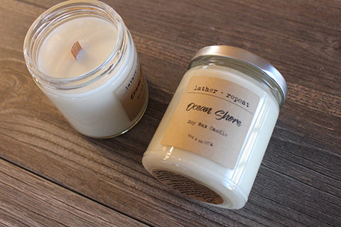 The Ocean Shore Candle