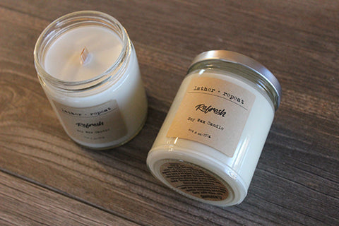 The Refresh Soy Candle