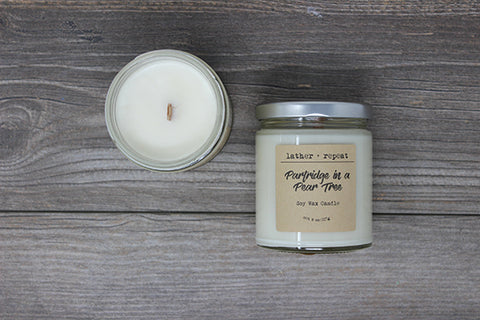 The Partridge in a Pear Tree Soy Candle