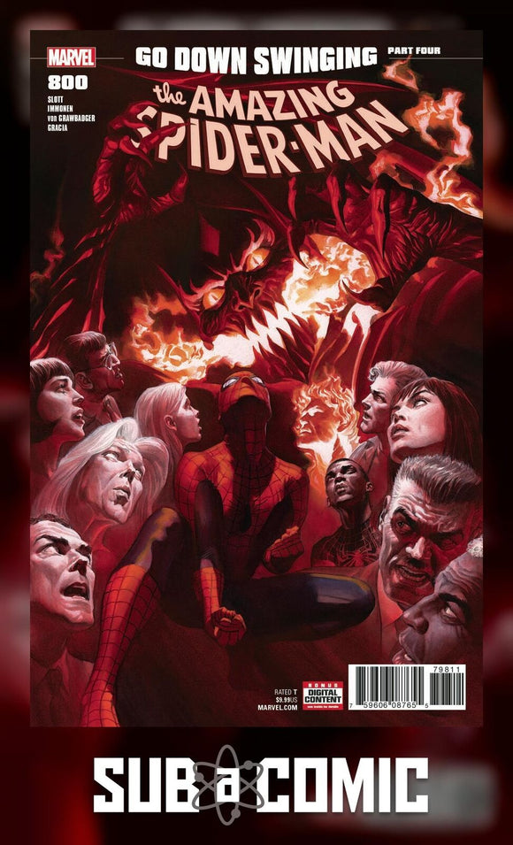 AMAZING SPIDER-MAN #800 (MARVEL 2018 1st Print)