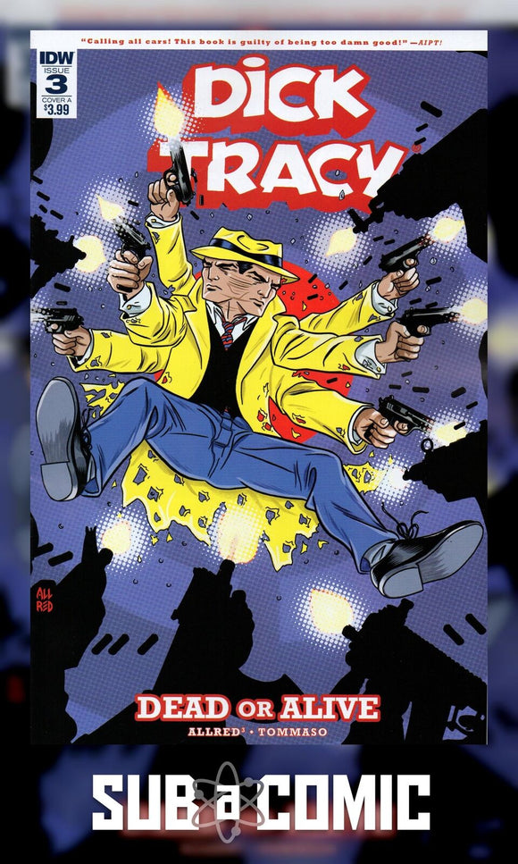 DICK TRACY DEAD OR ALIVE #3 COVER A ALLRED (IDW 2019 1st Print)