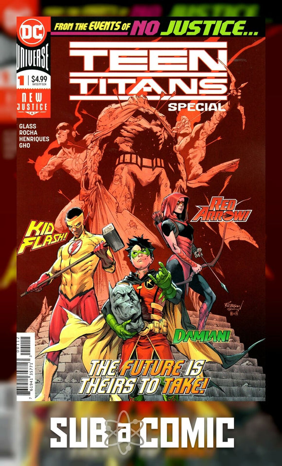 TEEN TITANS SPECIAL #1 (DC 2018 2nd Print)