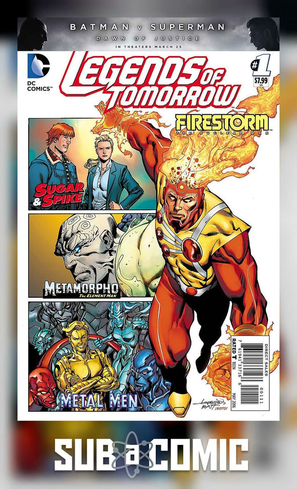 LEGENDS OF TOMORROW #1 (DC 2016 1st Print)