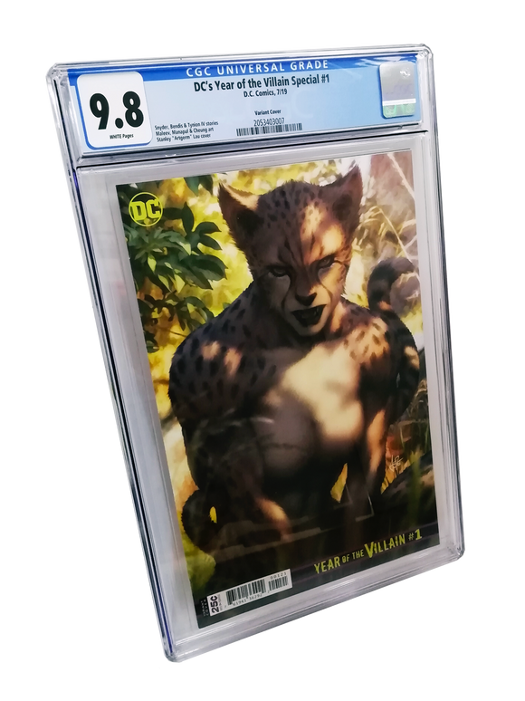 DC'S YEAR OF THE VILLIAN SPECIAL #1 ARTGERM VARIANT CGC 9.8 (DC 2019 1st Print)