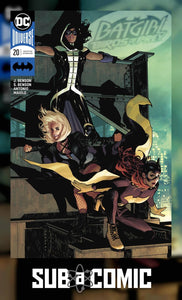 BATGIRL AND THE BIRDS OF PREY #20 VARIANT (DC 2018 1st Print)