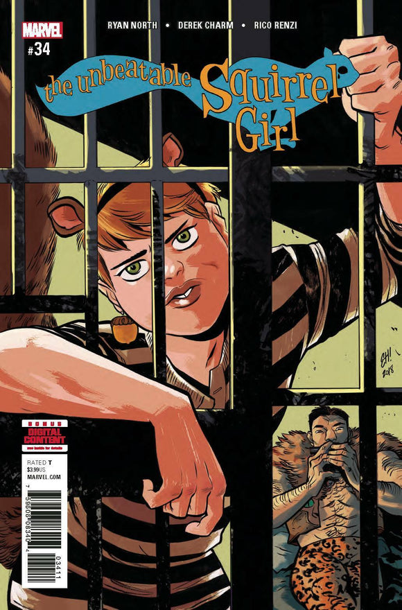 UNBEATABLE SQUIRREL GIRL #34 (MARVEL 2018 1st Print) COMIC