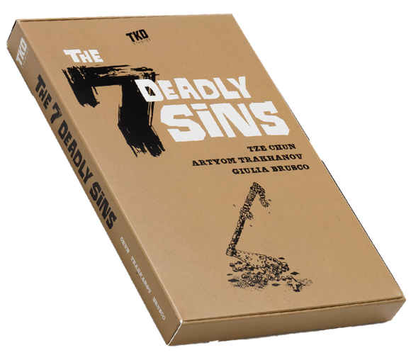 7 DEADLY SINS COMIC PACK #1 - 6 (TKO STUDIOS)