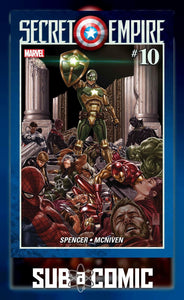 SECRET EMPIRE #10 SE (MARVEL 2017 1st Print)