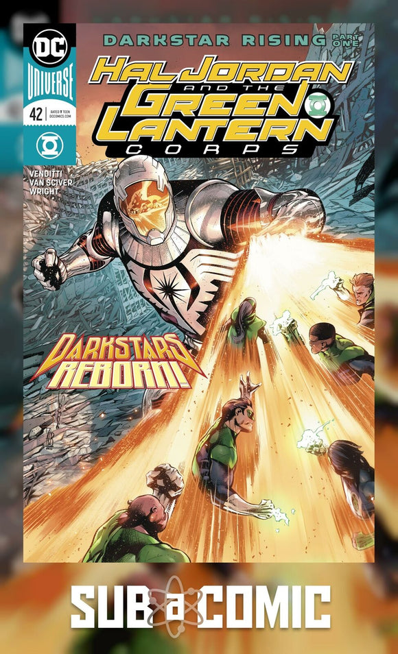 HAL JORDAN AND THE GREEN LANTERN CORPS #42 (DC 2018 1st Print)