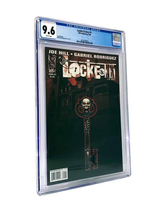 LOCKE & KEY #1 CGC 9.6 COMIC (IDW 2008 1st Print)