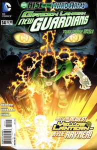 GREEN LANTERN NEW GUARDIANS #14 (DC RISE 2012 1ST PRINT)